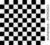 3d Black White Square Pattern