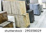 stack of granite slab   marble... | Shutterstock . vector #290358029
