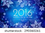happy new 2016 year. seasons... | Shutterstock .eps vector #290360261