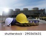 safety equipment for work... | Shutterstock . vector #290365631