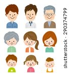 people of different ages | Shutterstock .eps vector #290374799