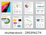 business infographics elements... | Shutterstock .eps vector #290396174