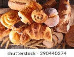 assortment of pastry | Shutterstock . vector #290440274