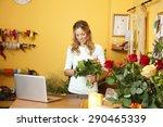 small business owner. portrait... | Shutterstock . vector #290465339