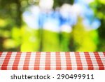view from the forest in... | Shutterstock . vector #290499911