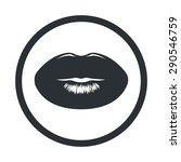 beauty icon.  | Shutterstock .eps vector #290546759