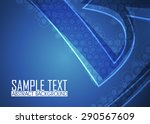 blue abstract background   Shutterstock .eps vector #290567609