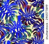 watercolor seamless pattern... | Shutterstock . vector #290577899