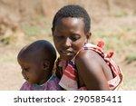 masai mara  kenya   july 12 ... | Shutterstock . vector #290585411