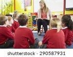Teacher Reading Story To...