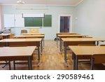 interior of a class room   Shutterstock . vector #290589461