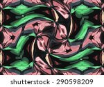 abstract bright colorful... | Shutterstock . vector #290598209