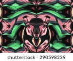 abstract bright colorful... | Shutterstock . vector #290598239