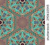 seamless pattern ethnic style.... | Shutterstock .eps vector #290610545