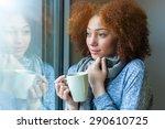 black african american teenage... | Shutterstock . vector #290610725