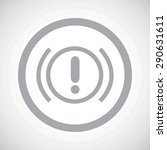 grey image of alert sign in...