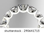 ring with diamond. jewelry... | Shutterstock . vector #290641715
