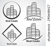 real estate company vector... | Shutterstock .eps vector #290648417