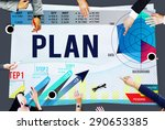 strategy planning vision growth ... | Shutterstock . vector #290653385