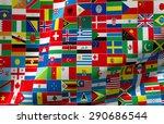 international  3d  global  flag | Shutterstock . vector #290686544