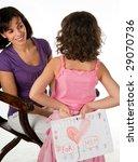 Little Girl Giving Her Mother ...