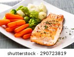 Salmon Fillet With Mixed...