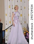 Small photo of LOS ANGELES, CA - FEBRUARY 27, 2011: Cate Blanchett at the 83rd Academy Awards at the Kodak Theatre, Hollywood.