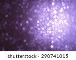 light bokeh  | Shutterstock . vector #290741015