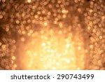 orange bokeh | Shutterstock . vector #290743499