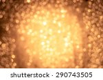 orange bokeh | Shutterstock . vector #290743505