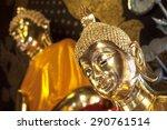 Golden Buddha At Wat Jet Yod ...