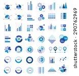 data analysis for info graphic... | Shutterstock .eps vector #290762969