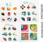 modern geometric design... | Shutterstock .eps vector #290768339