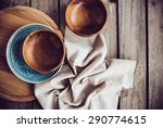 Rustic Tableware  Wooden Bowls...