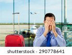 crying businessman who delayed... | Shutterstock . vector #290778641