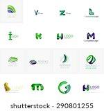abstract company logo... | Shutterstock . vector #290801255