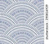 abstract seamless wavy pattern... | Shutterstock . vector #290816939