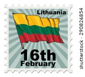 post stamp of national day of... | Shutterstock .eps vector #290826854