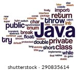 conceptual tag cloud containing ... | Shutterstock .eps vector #290835614