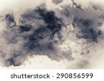 Small photo of smoke and cloud.Artistic abstraction composed of nebulous