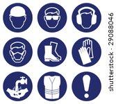 construction industry health... | Shutterstock .eps vector #29088046