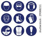 construction industry health... | Shutterstock . vector #29088211