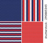 patriotic background patterns... | Shutterstock .eps vector #290885345