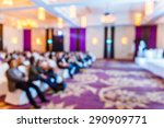 abstract blurred people in... | Shutterstock . vector #290909771