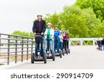 Tourist Group Having Guided...