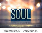 the word soul written in... | Shutterstock . vector #290923451