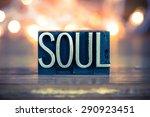 the word soul written in...   Shutterstock . vector #290923451