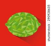 abstract fruit design  vector...   Shutterstock .eps vector #290928635