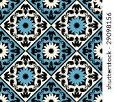 floral pattern   Shutterstock .eps vector #29098156