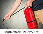 fire extinguisher  safety ... | Shutterstock . vector #290997779